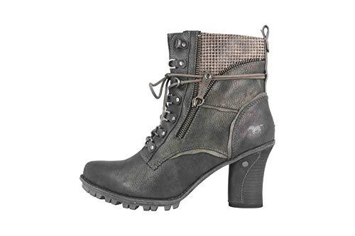 MUSTANG Shoes Stiefeletten in Übergrößen Grau 1141-614-259 große Damenschuhe, Größe:43