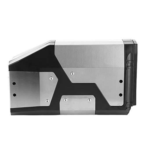 Caja lateral Caja de herramientas necesaria para un viaje cómodo para viajes de larga distancia para ocultar los viejos arañazos para una conducción segura