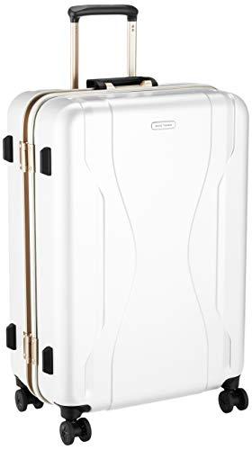 [ワールドトラベラー] スーツケース 日本製 コヴァーラム ベアリング入り双輪キャスター 73L 65 cm 5.3kg ホワイト