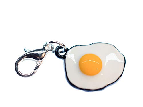 Miniblings Fried Charm Colazione rimorchi Alimentare Il Brunch Uovo Fritto
