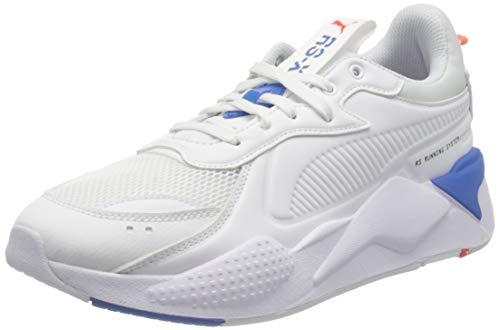 PUMA RS-X Master, Scarpe da Ginnastica Unisex-Adulto, Bianco White-Palace Blue, 46 EU