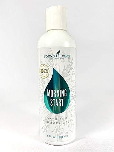 AromaSilk Morning Start Bath & Shower Gel 8 fl. oz. (236mL) by Young Living Essential Oils