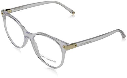 Dolce&Gabbana Damen 0DG5032 Brillengestelle, Mehrfarbig (Crystal), 51