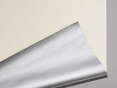 Meradiso Thermo Sonnenschutz Rollos Jalousien ca. 95 x 120 Sicht und Sonnenschutz für den Wohn und Schlafbereich cm (Beige)
