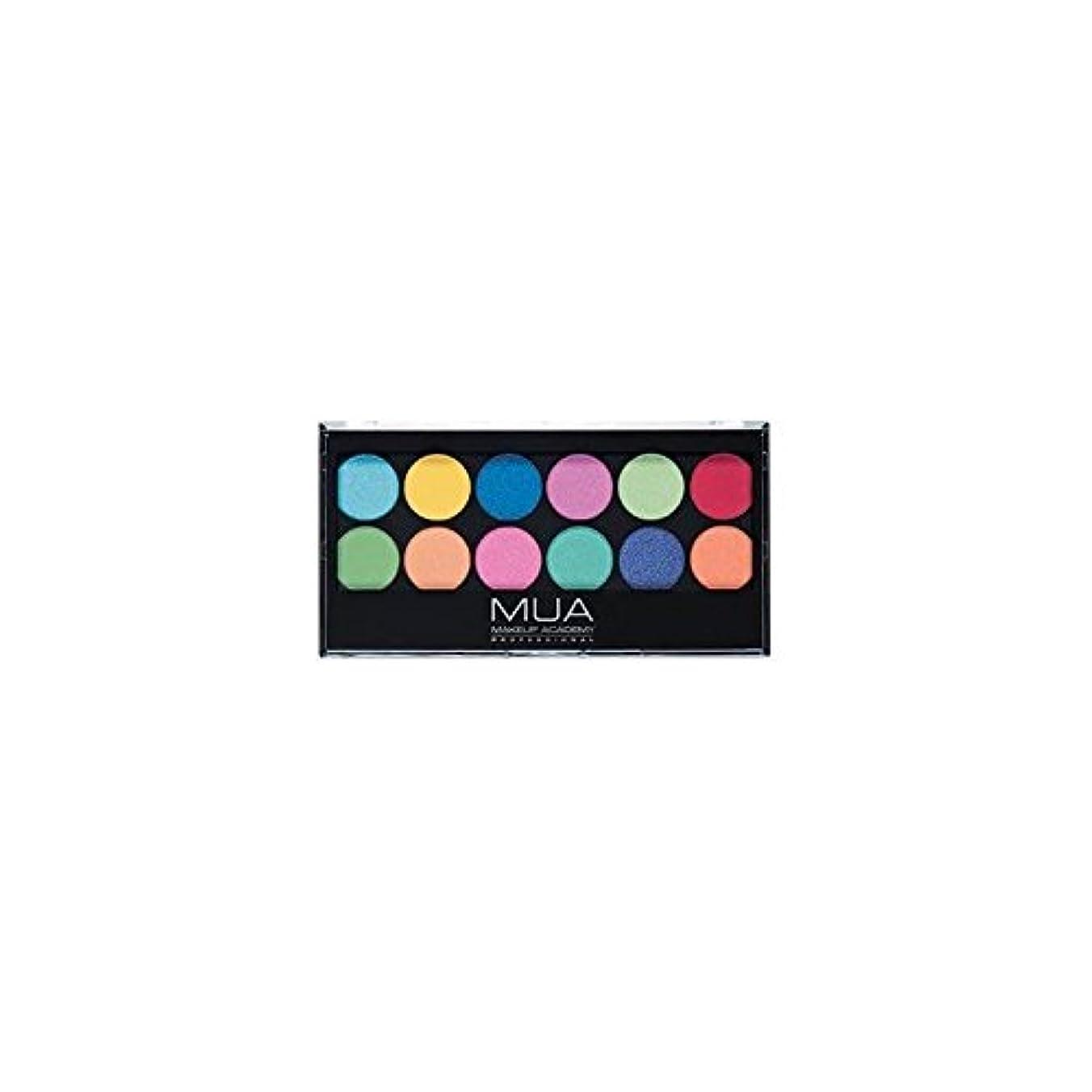 持参ポインタ浸すMUA Eyeshadow Palette - Silent Disco (Pack of 6) - のアイシャドウパレット - サイレントディスコ x6 [並行輸入品]