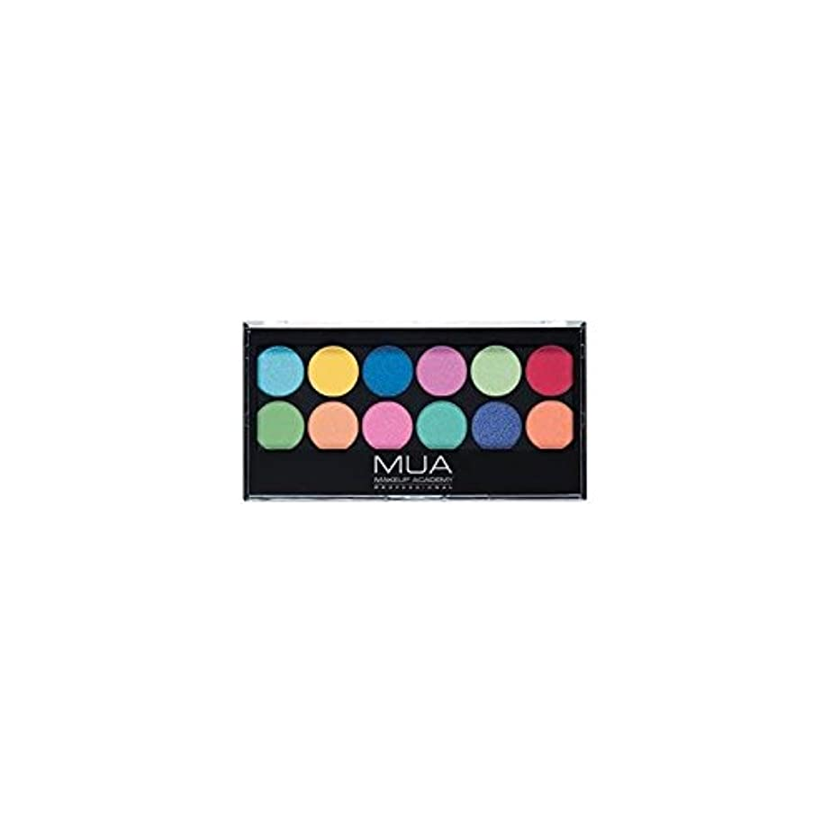 燃やす電信知的MUA Eyeshadow Palette - Silent Disco - のアイシャドウパレット - サイレントディスコ [並行輸入品]