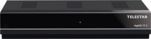 Telestar digiHD TT3 DVB-T2 HD Receiver (H.265 Standard, HDTV, HDMI, USB 2.0) schwarz