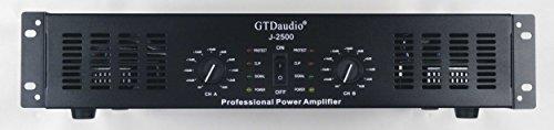 GTD Audio 2 Channel 2500 Watts 2U Stereo Professional Power Amplifier Amp