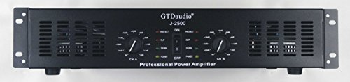 %60 OFF! GTD Audio 2 Channel 2500 Watts 2U Stereo Professional Power Amplifier Amp