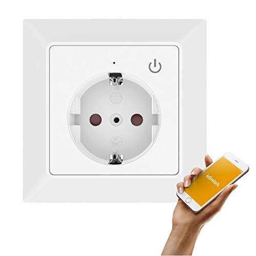 idinio® Enchufe de pared inteligente WiFi, sensor interruptor,...