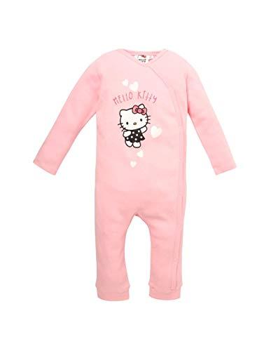 Hello Kitty - Pelele de manga larga para bebé de 3 a 24 meses, color rosa rosa 12 meses