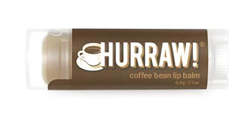 Hurraw Coffee Bean Lip Balm, 4.8g/.17oz