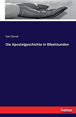 Die Apostelgeschichte in Bibelstunden