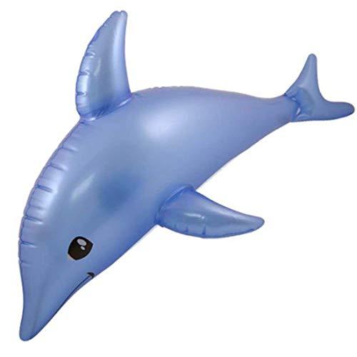 Henbrandt - Aufblasbarer Delphin Spielzeug Meer Strand 53cm