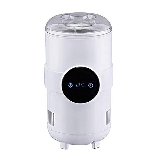 JJINPIXIU Taza de enfriamiento rápido para automóvil de 12 V, Taza de Calentamiento de Temperatura Constante de enfriamiento rápido, Almacenamiento de Leche para el hogar