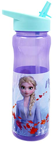 Disney - Botella para bebidas (polipropileno, 600 ml), multicolor