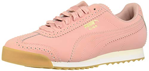 PUMA Womens Roma Brogue Lace Up Sneakers Shoes Casual - Pink - Size 11 B