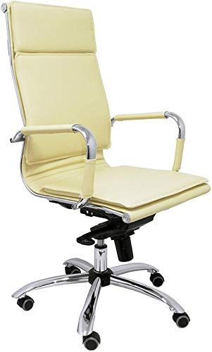 Silla de Oficina ergonómica Confidente Regulable en Altura Color Crema
