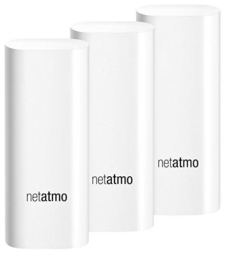 Netatmo Tags DTG01-EUS-A Capteurs de Sécurité des Portes et Fenêtres pour Caméra...