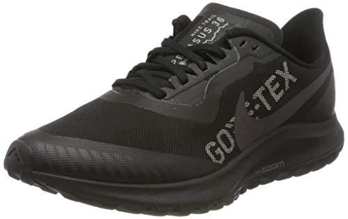 Nike W Zoom Pegasus 36 Trail GTX, Scarpe da Corsa Donna, Grigio Black Thunder Grey Total Orang 001, 35.5 EU