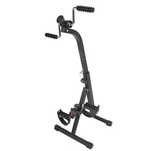 Equipo de rehabilitación, bicicleta estática, equipo de rehabilitación eléctrico, herramienta de recuperación de bicicleta de entrenamiento para ejercicios de carrera para ancianos