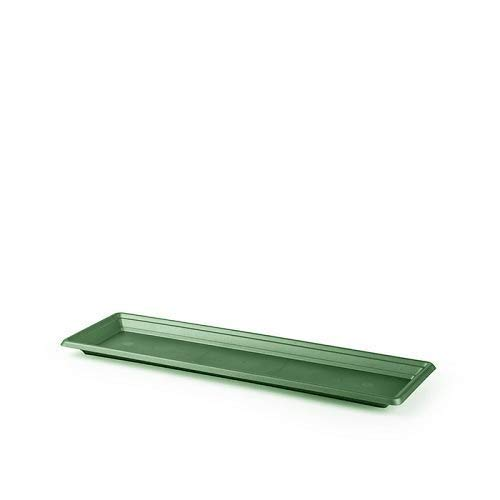 CABLEPELADO Plato Jardinera de plastico 60 cm (Verde)