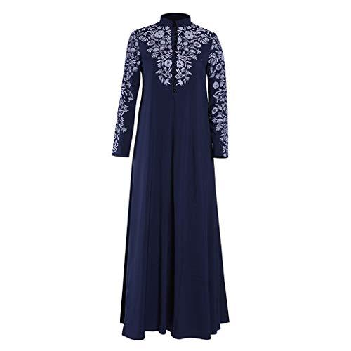 Wenhu Kleid für Bangladesch Dubai Abayas für Frauen Hijab-Partei-Kleid Arabisch Marokkanische Femme Muslim Kleid Islamische Kleidung,B,4XL