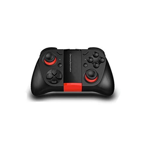 Ouqian Manette de Jeu Gamepad Mobile Game Controller Gamepad Disponible for Ordinateur Mobile Gaming Portable Joystick Poignée (Couleur : Black, Size : 14.2x9x4.6cm)