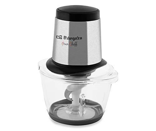 Orbegozo MC 4600 - Picadora eléctrica, 4 cuchillas inox, 1,2 L de capacidad, pica hielo, apto para lavavajillas, 300 W