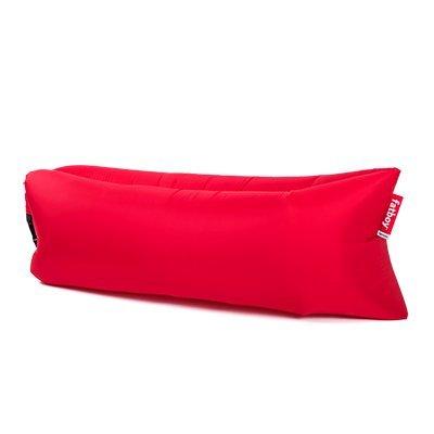 Fatboy Lamzac The Original 2.0 rot | Aufblasbares Sofa/Liege, Sitzsack mit Luft gefüllt | Outdoor geeignet | 185 x 83 x 50 cm