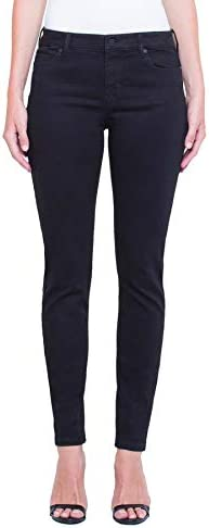 Liverpool Women s Abby Skinny 30 Ins Jeans Black Rinse 10 product image