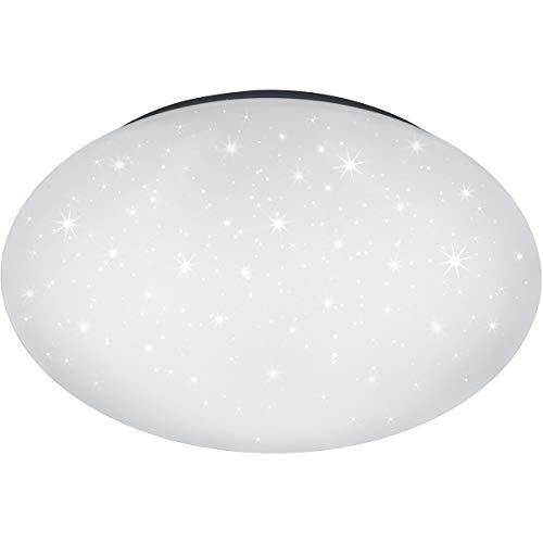 LED Deckenleuchte - Trion Luka Ster - 18W - Einstellbare Farbtemperatur - Dimmbar - Fernbedienung - Rund - Mattweiß