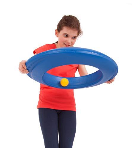 RONDOGO Ballkarussell / Bewegungsspielgerät mit 3 unterschiedlichen Bällen / Material: Kunststoff / inkl. Anleitung / für Kinder ab 5 Jahre