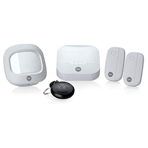 Yale IA-311 Alarme maison connectée compatible Animaux Sync, Système Anti-Intrusion sans Fil | Starter Pack (Compatible Amazon Alexa)