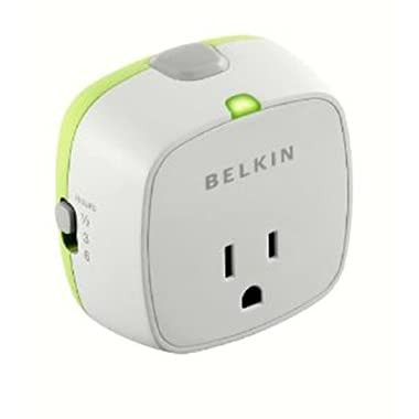 Belkin Conserve Socket Energy Saving Outlet with Timer, F7C009q