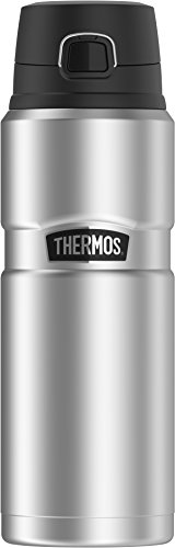 THERMOS King Drink Bottle 24 Ounce Stainless Steel