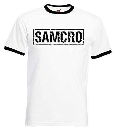 Sons Of Anarchy Samcro Original T-Shirt nero