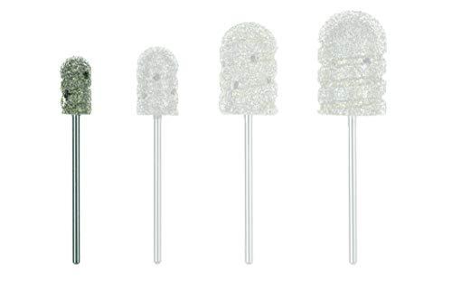 Premium Diamantfräser Grob für die Fusspflege 7mm Aufsatz Hornhautschleifer von Stius in Honiglöffelformat (7mm)