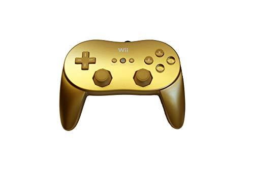 Classic Controller Pro Gold Original Nintendo - Wii *