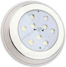 LEDKIA LIGHTING Faretto Piscina LED da Superficie Inox 9W