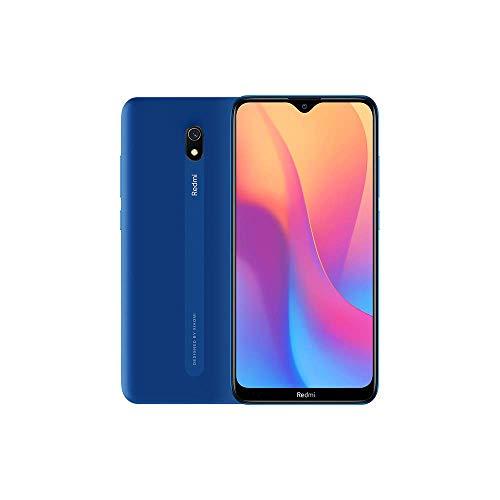 Xiaomi Redmi 8A - Smartphone débloqué 4G (6.22 Pouces - 2Go RAM - 32Go Stockage - Double nano-SIM) Bleu - Version Française - [Exclusivité Amazon]