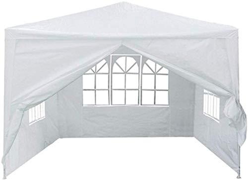ZJDU Tiendas de campaña para Acampar Tent Raveling Camping Tienda de campaña Sombrilla 3Mx3M 4 Paredes Laterales Cubierta al Aire Libre T para Pesca de mochilero (Color: Rojo, Tamaño: 3x3m)