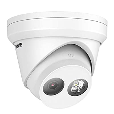 ANNKE C800 4K 8MP PoE Security Camera for NVR System Ultra HD Dome Turret IP Camera EXIR Night Vision, H.265+ Video Compression, IP67 Weatherproof, Support 128GB Micro SD, Remote Access