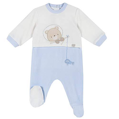 Chicco Tutina con Apertura sul patello Pigiamino per Bambino e Neonato, Azzurro, 050 Bimbo