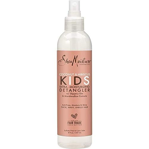 SheaMoisture Coconut & Hibiscus KIDS Detangler 8oz