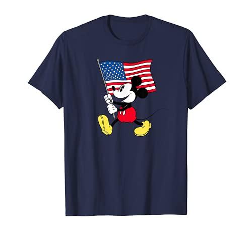 Disney Mickey Mouse Americana Flag T-Shirt