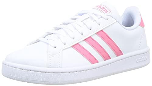 adidas Grand Court, Scarpe da Tennis Donna, Bianco Ftwbla Tonros Ftwbla, 39 1/3 EU