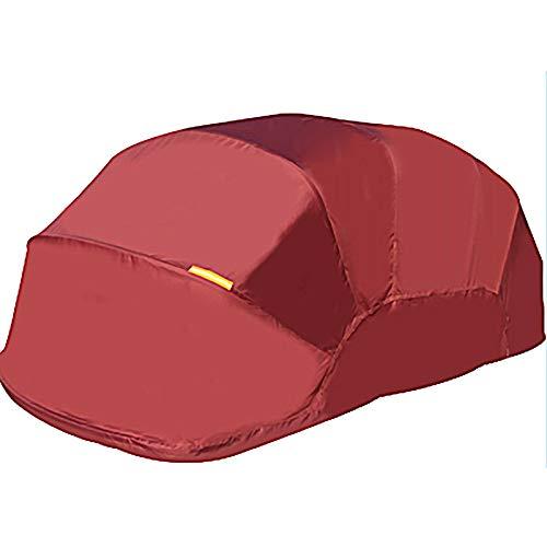 LiChenY Mobile Garage Auto Zelt Abdeckung Wasserdicht Alle Wetter, Halbautomatischer Sonnenschutz Anti-UV Hydraulik Carport - Edelstahl - Home Outdoor Teleskop Mobiles Garage