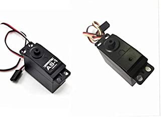 Part & Accessories ARRMA AS-1 3KG Servo for 1/10 rc car Scale AR390052 HPI 1/5 hpi rc SF-20 SF-10 - (Color: 2pcs)