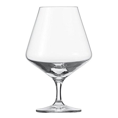 Schott Zwiesel Tritan Crystal Glass Pure Stemware Collection Cognac Glass, 20.8-Ounce, Set of 6